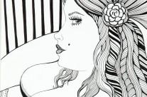Lia R. – Femme Rayures