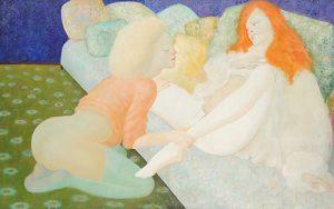 leonor-fini-peintures-huiles-1967-hst-lentre-deux