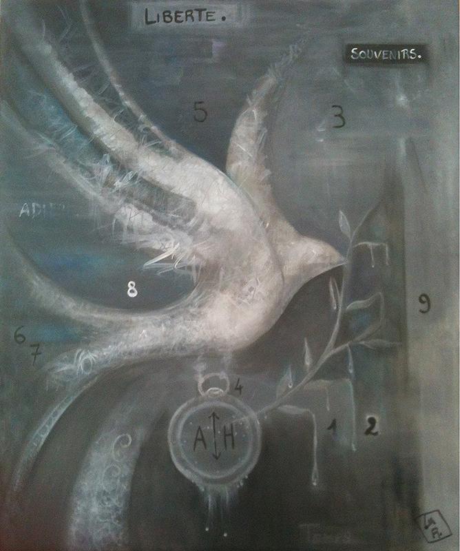 Lia R. – La colombe et le temps