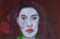 Céline Pelé – Femme au serpent vert