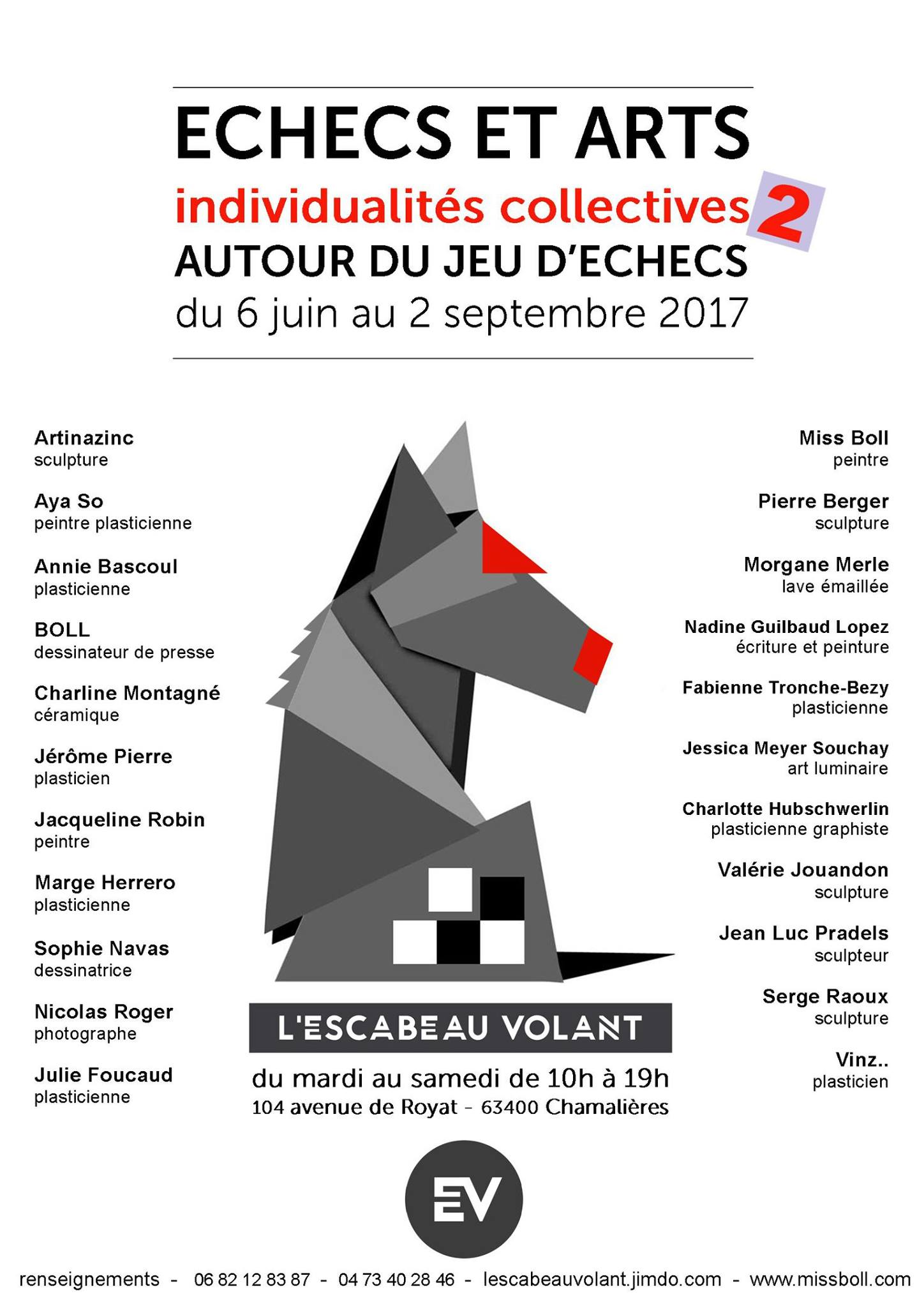 Exposition Échecs & Arts