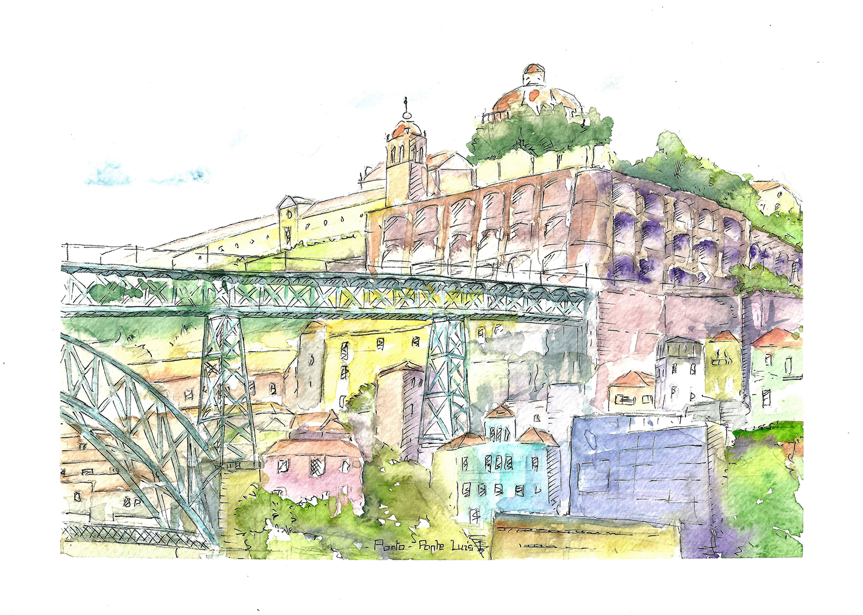 Carte postale «Ponte Dom Luis» – Céline Barrier