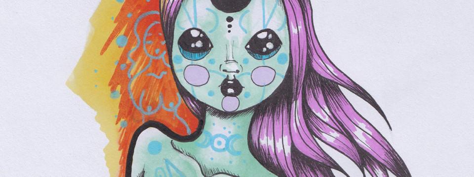 Bisou Belette – Little Monster