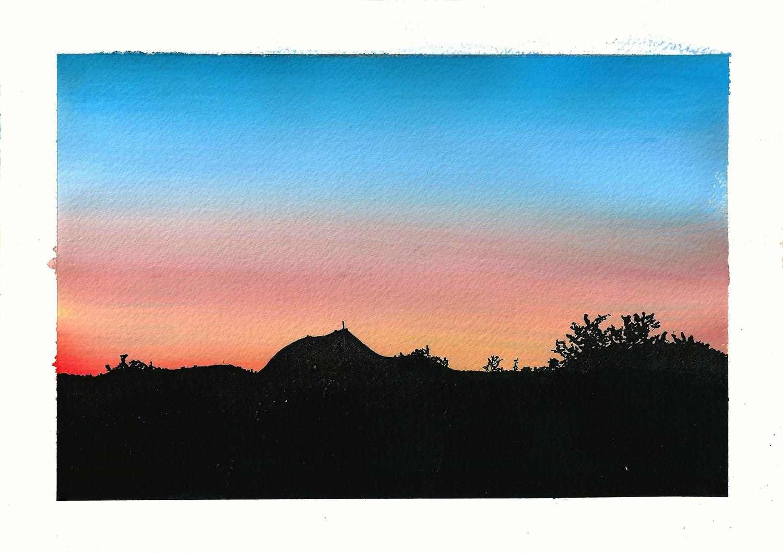 Carte postale «Puy-de-Dôme» – Céline Barrier