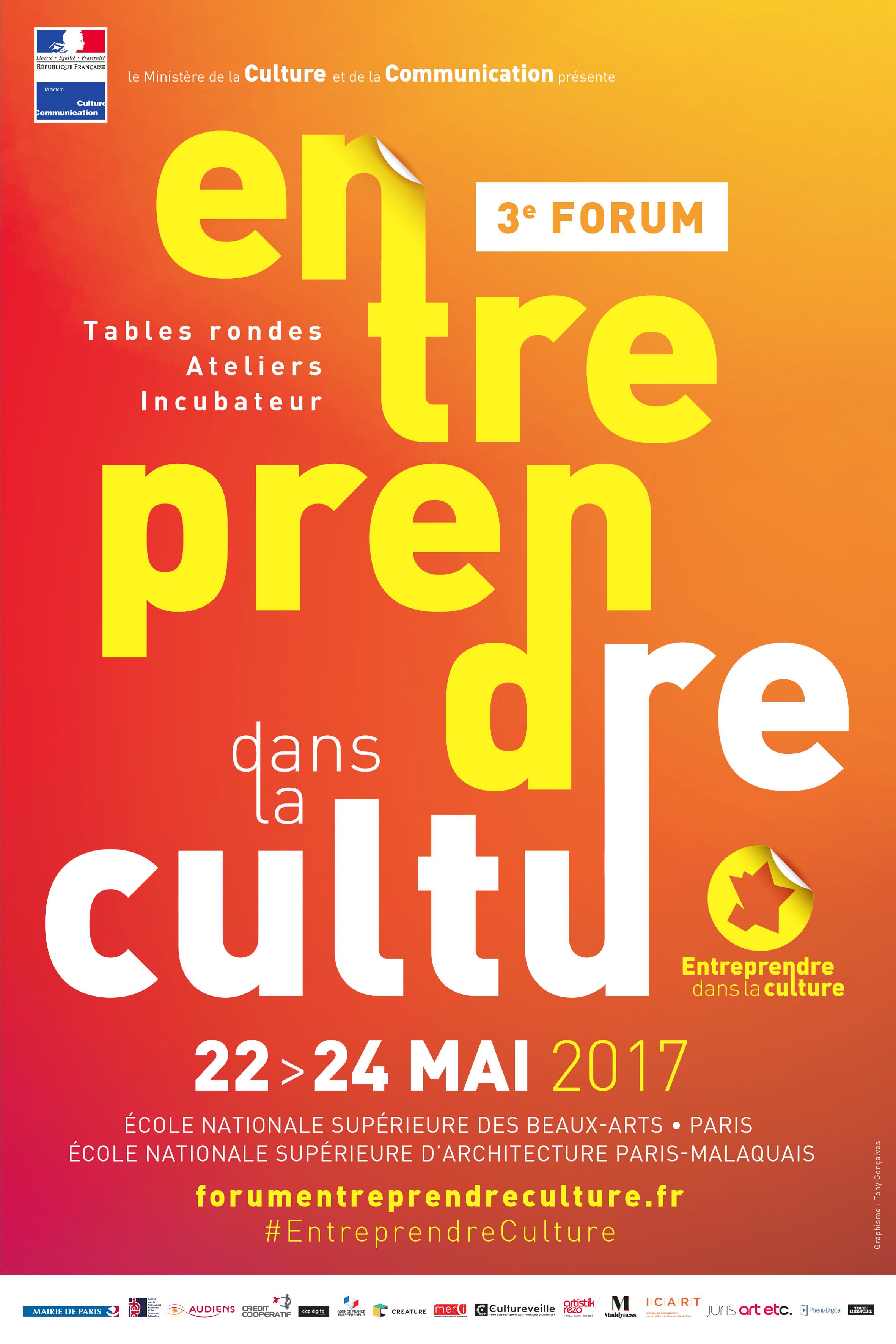 Forum Entreprendre dans la Culture 2017
