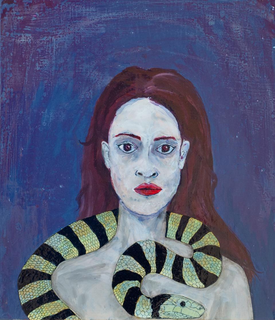 Céline Pelé – Femme au serpent
