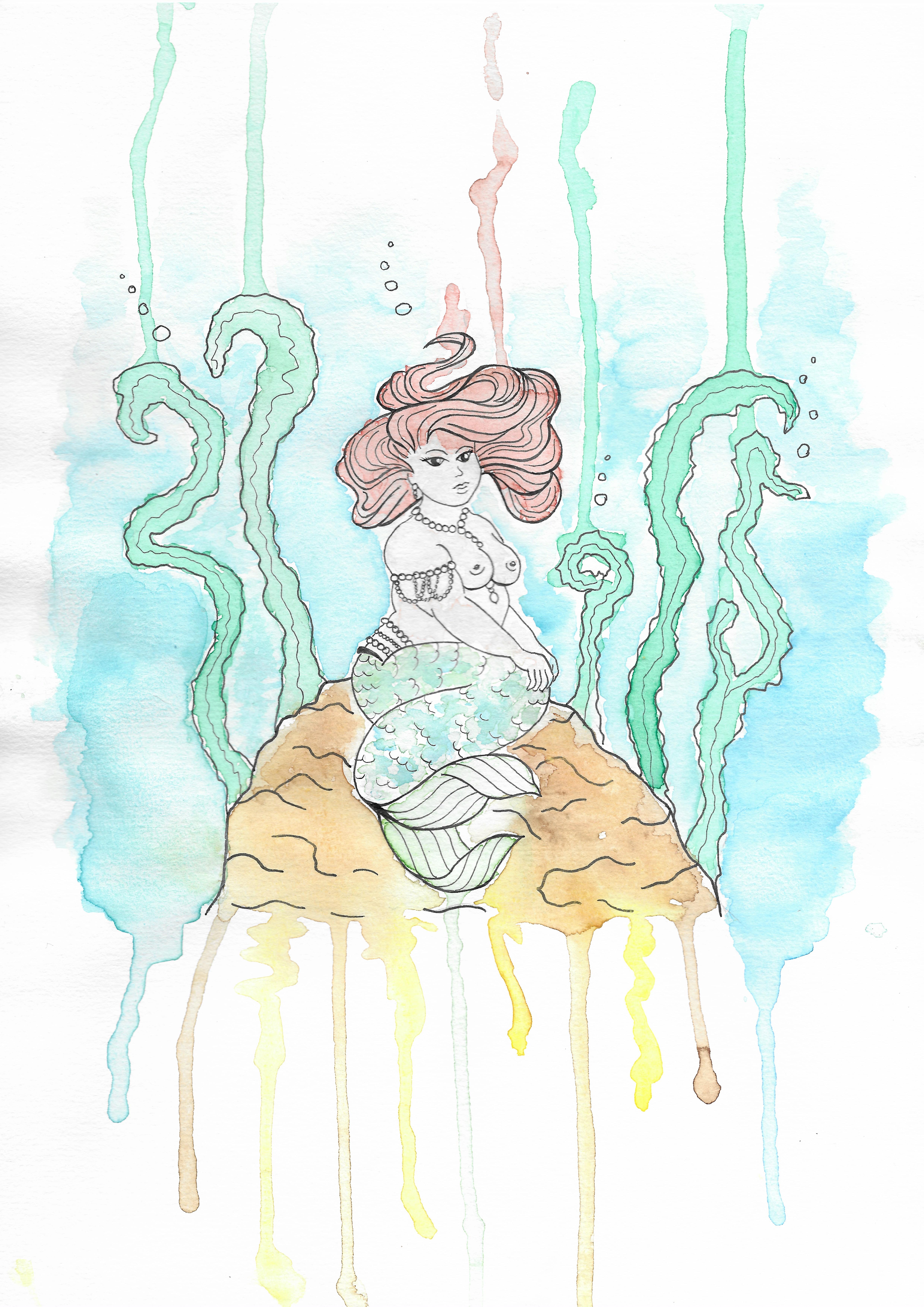 Gallïane Murmures – Mermaid