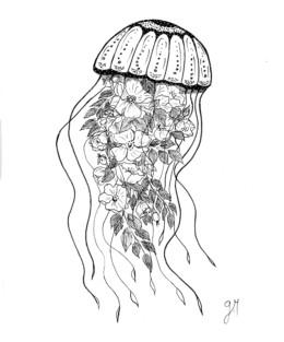 Gallïane Murmures – Méduse