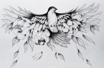 Gallïane Murmures – L'oiseau-fleurs